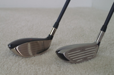 TWGT 949MC 7-wood and 915F/H 9-wood